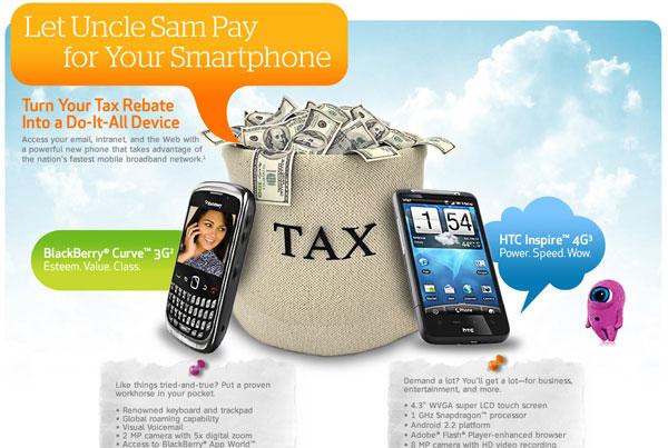 Cellphone Promo Webpage