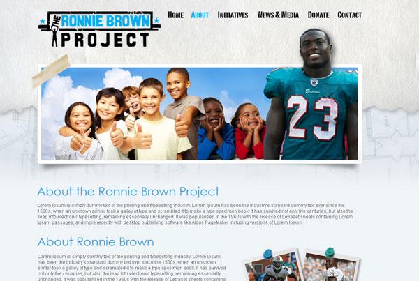 Ronnie Brown Website
