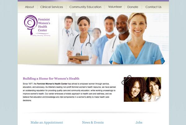 Women's Health Clinic Website