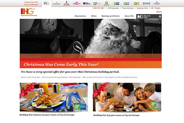 IHG Christmas Promotion