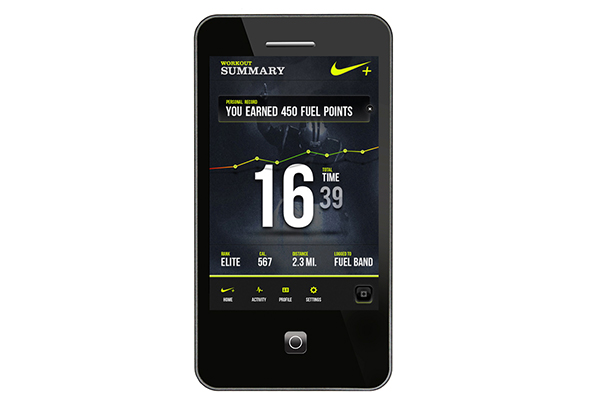 Nike Fuel App
