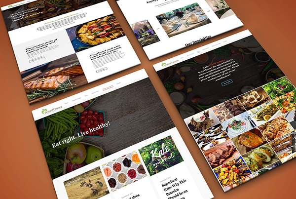 Catering Website Layouts
